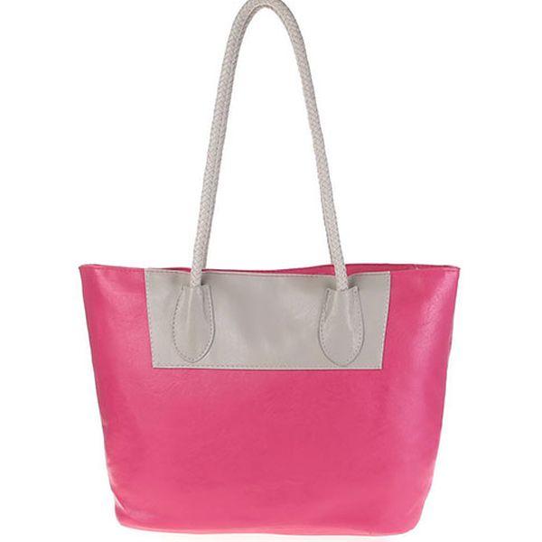 Růžová taška s dlouhými uchy