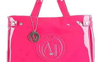 Růžová kabelka Armani