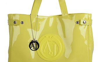 Žlutá kabelka Armani