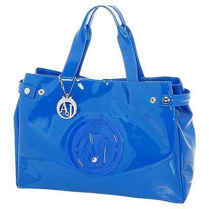 Modrá kabelka Armani