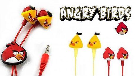 Sluchátka Angry birds za pouhých 149,-Kč