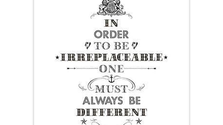 Plakát Coco Chanel