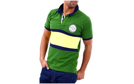Pánské polo triko Selected zelené