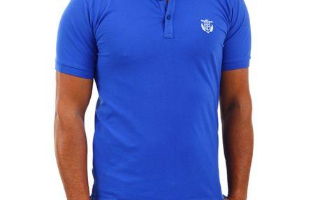 Pánské polo triko Selected Aro modré