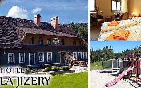 Prázdniny v nově zrekonstruovaném hotelu Perla Jizery v Jizerských horách na 5, 6 nebo 7 dní pro 2 osoby. Bohaté snídaně, večeře, návštěva sauny, Babylon v Liberci, bobová dráha v Janově a mnoho dalšího.