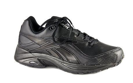 Černé kožené tenisky Reebok Ultimate Walk