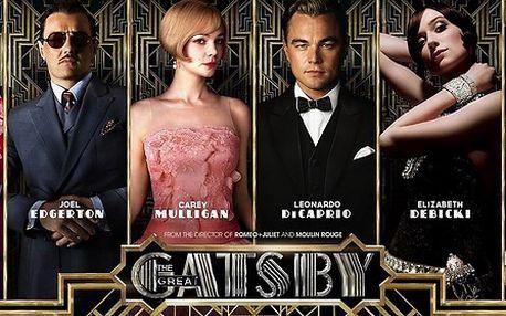 Romantické drama Velký Gatsby v kině Lucerna Brno