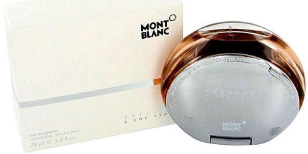 Dámský parfém - Mont Blanc Presence D`une Femme EDT tester 75 ml W