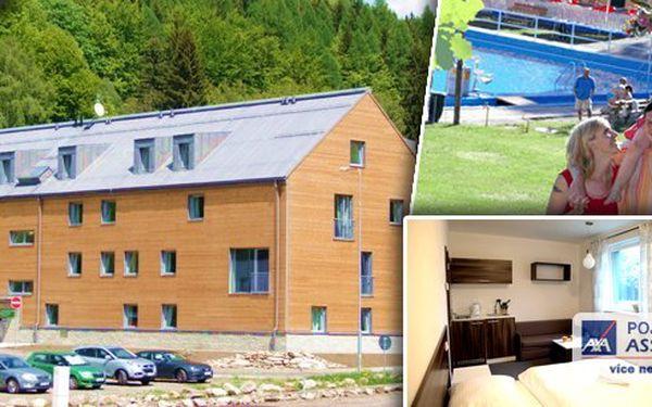 Ubytování v apartmánech KOUTY na 2 noci pro 2 osoby s bohatou snídaní. Příjemné prostředí, adrenalin a relaxace. To je léto v Jeseníkách