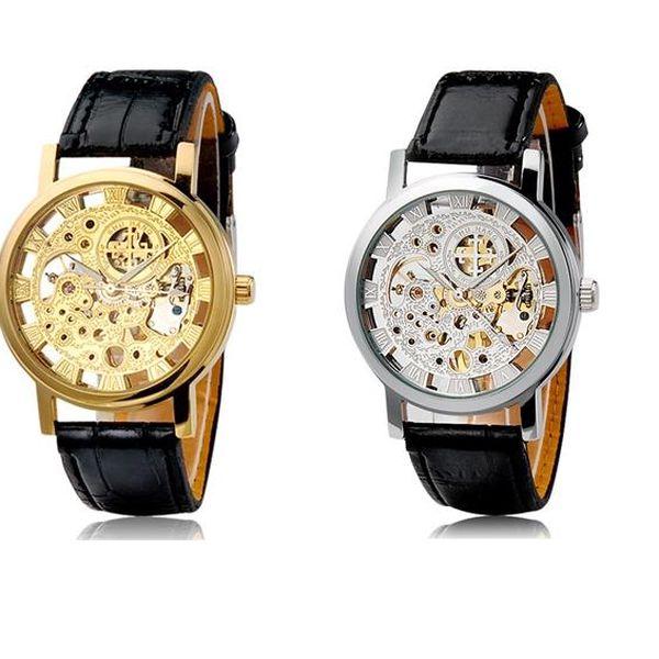 Unisex samonatahovací hodinky s římskými číslicemi - 2 barvy a poštovné ZDARMA! - 195