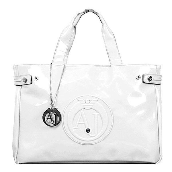 Bílá kabelka Armani