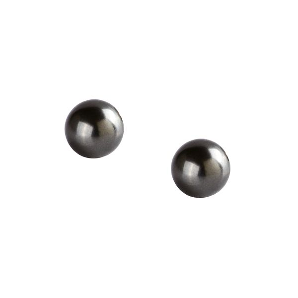 Dámské černé perlové náušnice Destellos