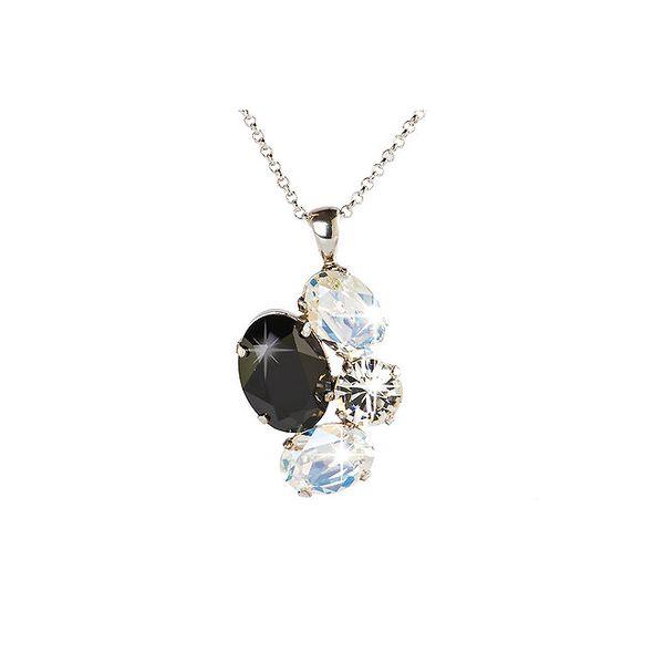 Dámský stříbrný náhrdelník se Swarovski krystaly Destellos