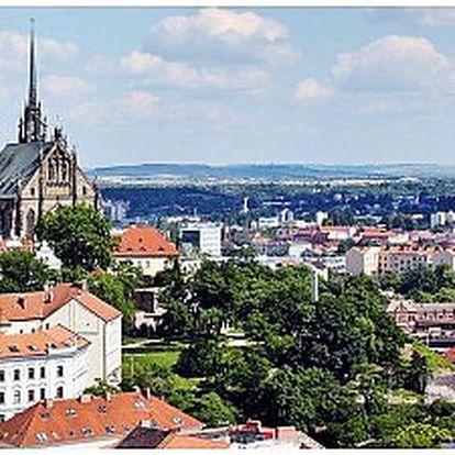 Třídenní pobyt pro 4 osoby v Brně v Penzionu Kociánka