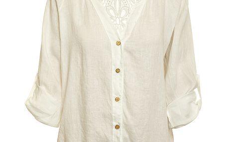 Dámská bílá lněná košile Puro Lino