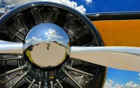 15minutový nebo hodinový vyhlídkový let letadlem!