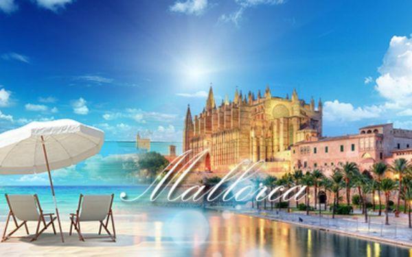 8 DENNÍ dovolená na španělském ostrově MALLORCA za 11127 Kč! Ubytování pro DVA s výhledem na hory včetně SNÍDANÍ, 1l SANGRIE a 20% slevy na PLAVBU LODÍ! Voucherem platíte zálohu 1659 Kč, zbytek přímo v hotelu!