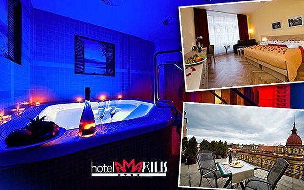 Královský wellness pobyt pro 2 v luxusním hotelu Amarilis **** v centru Prahy