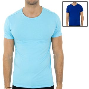 Dvě pánská trička Ralph Lauren - světle a tmavě modré
