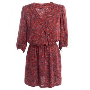 Dámské růžové šaty s konfetovým potiskem 2two