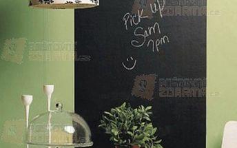 Samolepící nástěnná tabule - černá a poštovné ZDARMA! - 9703829