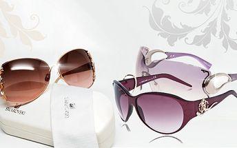 Luxusní sluneční brýle těch nejznámějších značek za fantastické ceny! Brýle giorgio armani, roberto cavalli, swarowski nebo tom ford již od 1825 kč! Doprava zdarma! Navíc ke každým brýlím pouzdro a hadřík na čištění!