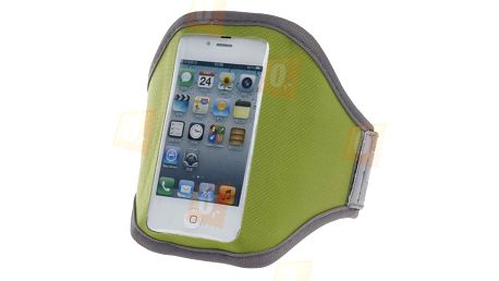 Sportovní pouzdro na ruku pro iPhone 4S - zelené a poštovné ZDARMA! - 197