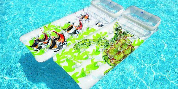 Intex Lenoška s potiskem s motivy mořského světa. Pravá pohoda ve vašem bazénu!