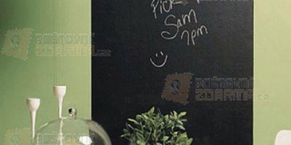 Samolepící nástěnná tabule - černá a poštovné ZDARMA! - 9303829