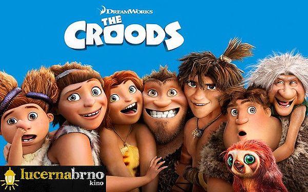 Animovaná komedie Croodsovi 2D v kině Lucerna Brno