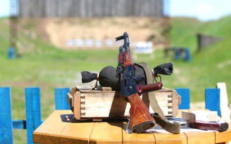 Střelba ze zbraní na střelnici, výběr ze tří balíčků!