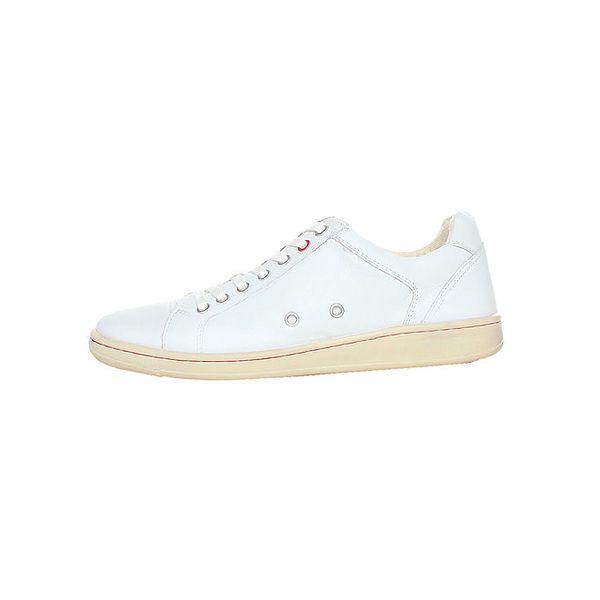Pánské bílé kožené tenisky Avirex