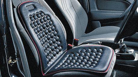Masážní podložka do auta 2 ks - jemně masíruje, podporuje krevní oběh a snižuje únavu
