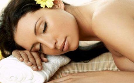 Luxusní 90 minutový relaxační balíček 4v1 s masáží...
