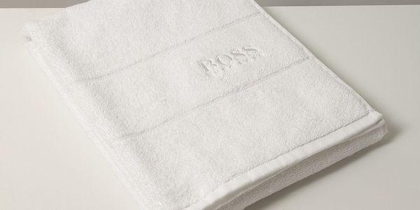 Ručník Hugo Boss Plain 50x100 cm, bílý