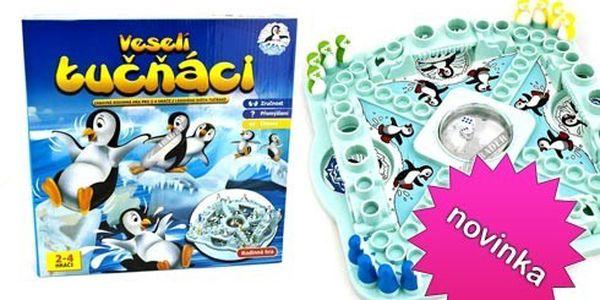 Veselí tučňáci - super stolní hra!! Kompletně v češtině!!