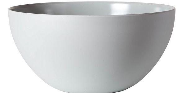 Salátová mísa Venezia 30 cm, šedá - elegantní mísa vyrobená z kvalitního melaminu
