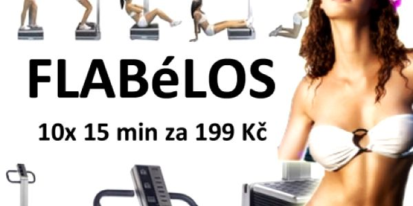 10x15 minut PERMANENTKA na vibrační plošinu FLÁBELOS! 15 min. cvičení Flabélos = 1 hod. tréninku v posilovně! Centrum Prolinebody v centru Brna...