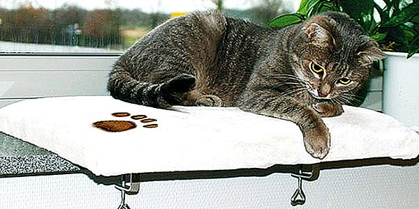 Závěsná odpočívadla pro kočky. Příjemný plyšový materiál