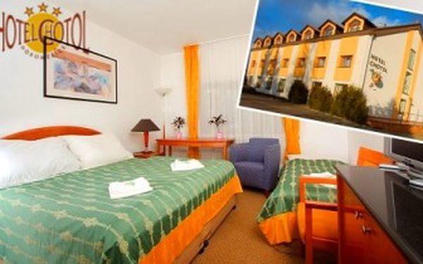 3 ROMANTICKÉ DNY v PRAZE pro 2 v hotelu Chotol. Welcome drink, SNÍDANĚ, VEČEŘE, MASÁŽ.