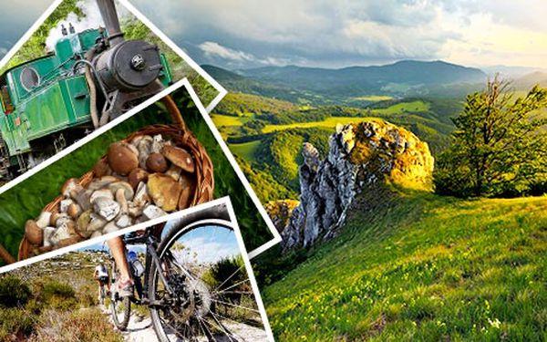Slovensko, Velká Rača – cyklo a houbaření