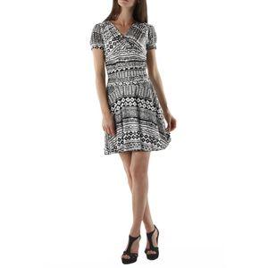 Dámské šaty fifilles de paris alfa černo-bílé