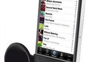 Trust Stojánek s reproduktorem - Díky své jednoduché konstrukci ideální pro Apple iPhone4/4S
