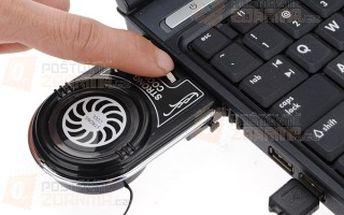 Mini USB chladič pro notebook a poštovné ZDARMA! - 9403876