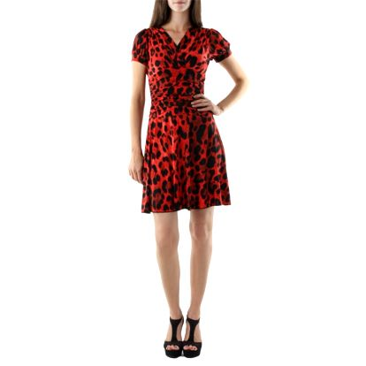 Dámské šaty fifilles de paris alfa červeno-černé