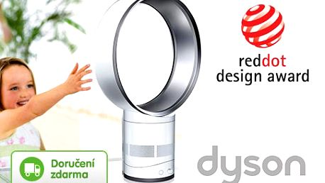Designový ventilátor bez vrtule Dyson