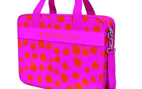 Růžová puntíkatá cestovní taška Agatha Ruiz de la Prada