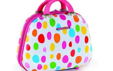 Malý cestovní kufřík s puntíky Agatha Ruiz de la Prada