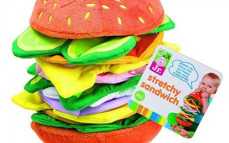 Veselá natahovací hračka Hamburger od značky Alextoys