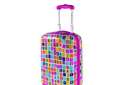 Menší barevný kufr Agatha Ruiz de la Prada